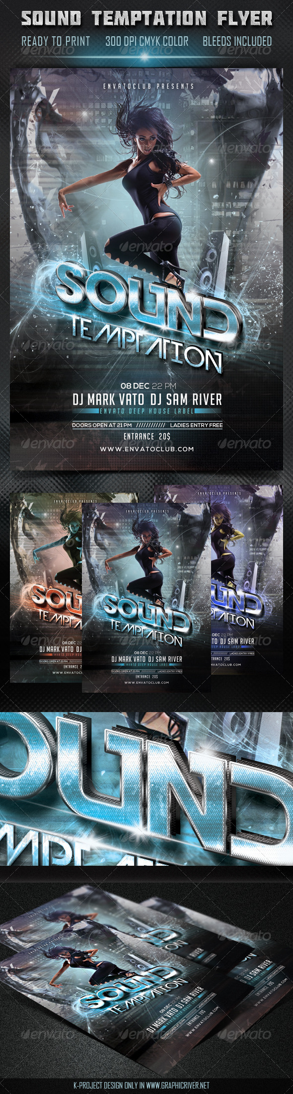 GraphicRiver Sound Temptation Flyer 5912777