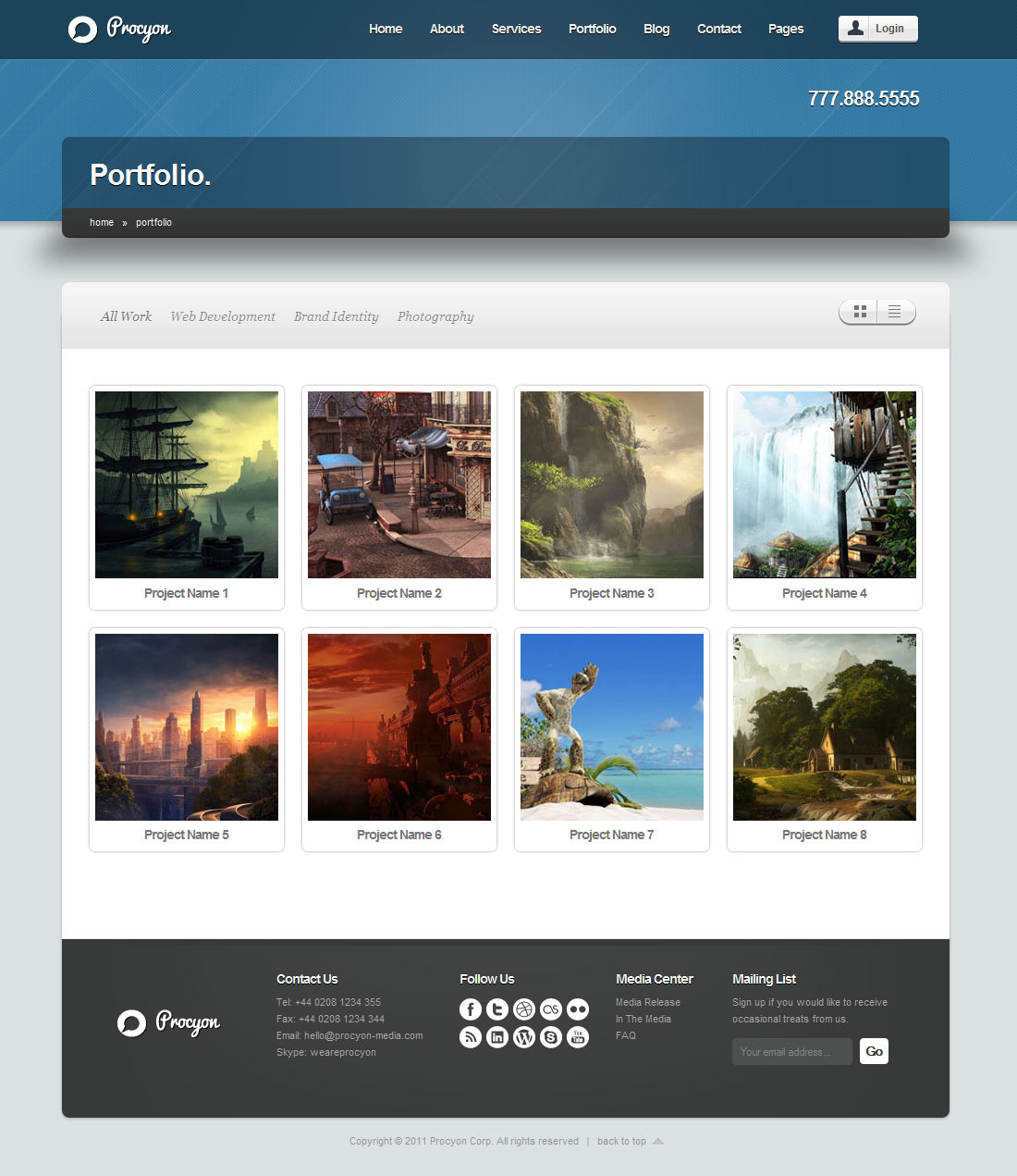 Procyon - Corporate Business Template 6