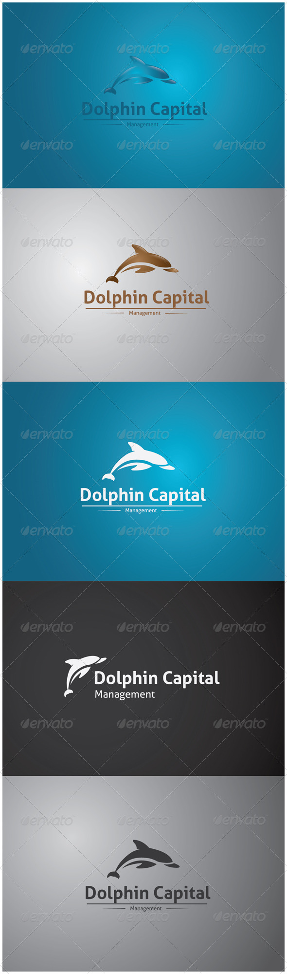 GraphicRiver Dolphin Capital Logo 5913119