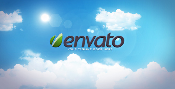 After Effects Project - VideoHive Sky Logo Reveal 614410