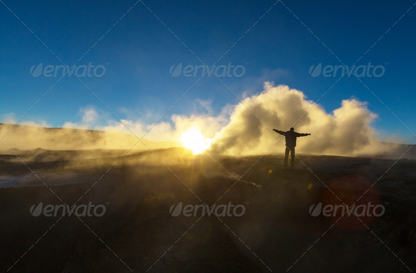 Sol de Manana - Stock Photo - Images