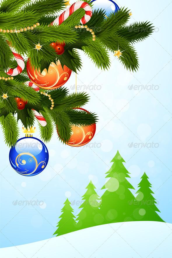 GraphicRiver Christmas Greeting Card 5913886