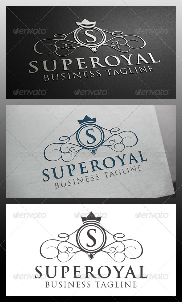 GraphicRiver Super Crest Logo Template 5914206