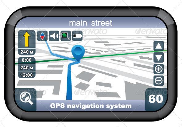 GraphicRiver GPS Navigator 5914277