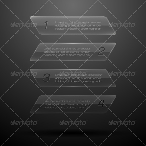 GraphicRiver Glass Elements of Infographics EPS10 Vector Illus 5914305