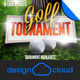 Golf Tourament Event Promo Flyer - GraphicRiver Item for Sale