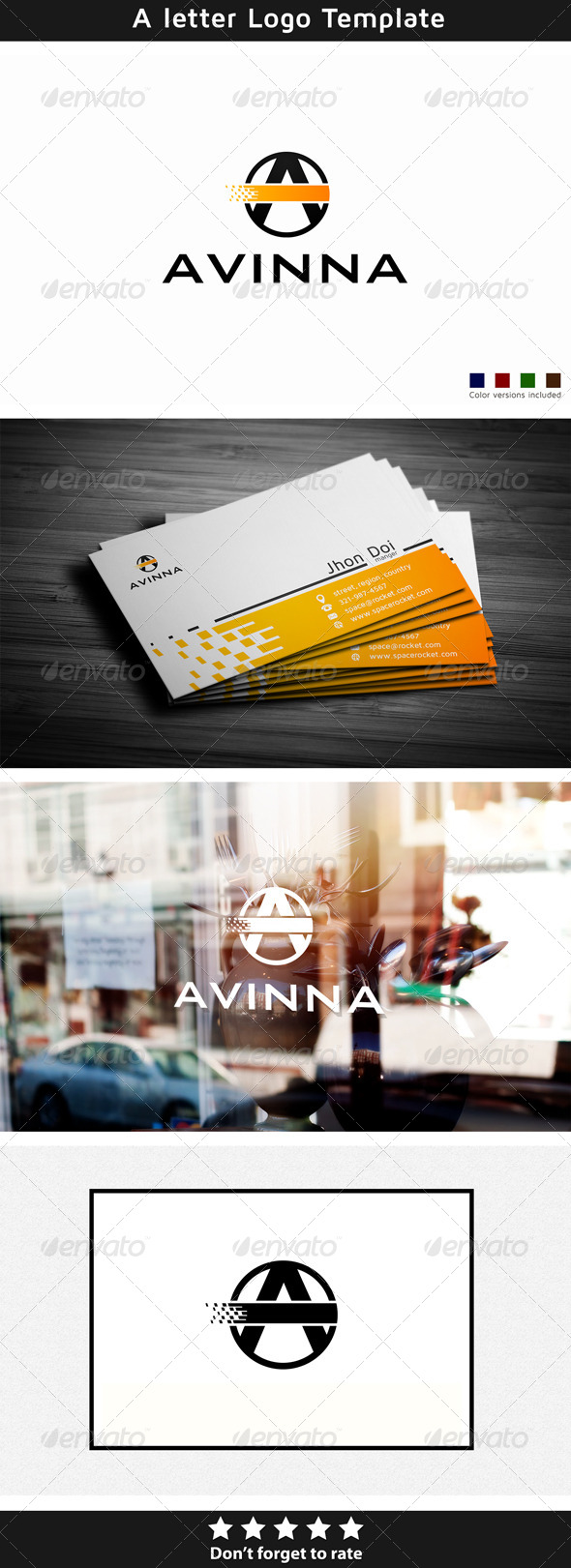 Avinna - Letters Logo Templates