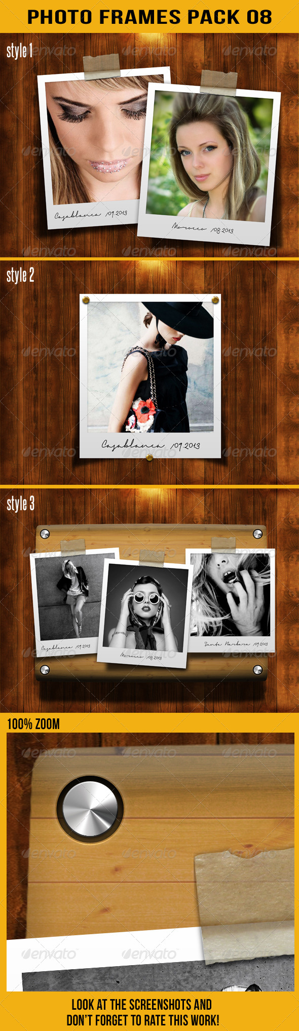 GraphicRiver Photo Frames Pack 08 5915028