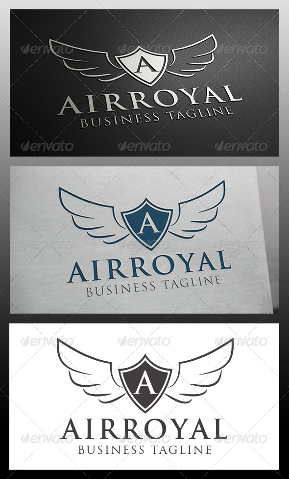 GraphicRiver Airline Crest Logo Template 5915227
