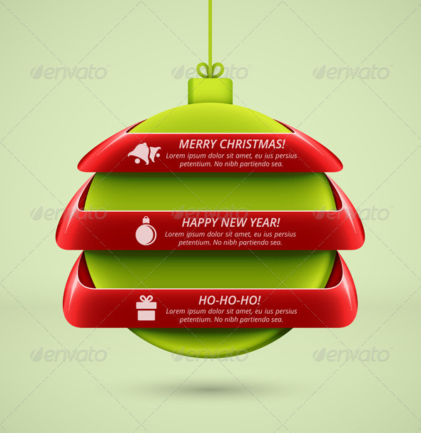 GraphicRiver Christmas Infographics 5915509
