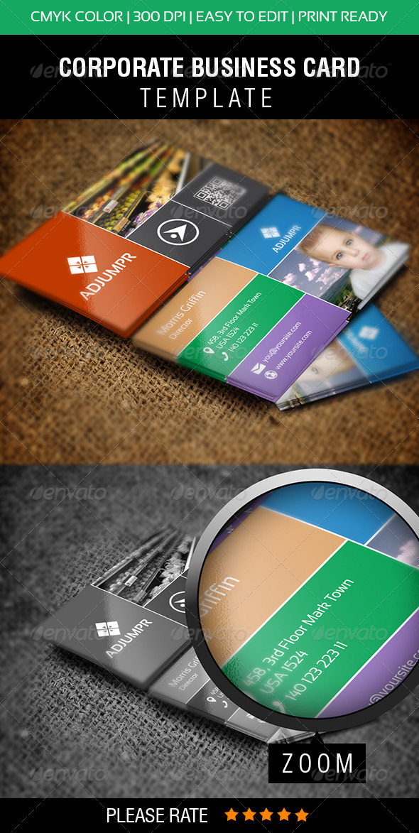 GraphicRiver Metro Business Card 5756156
