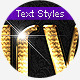 Gold & Silver 4 - Text Styles - GraphicRiver Item for Sale