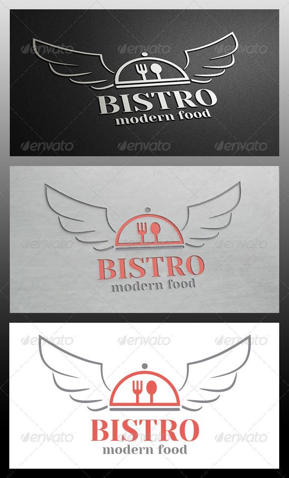 GraphicRiver Bistro Wings Logo Template 5915671