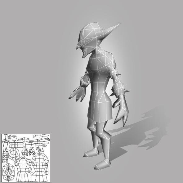 3DOcean Goblin Lowpoly 5916280