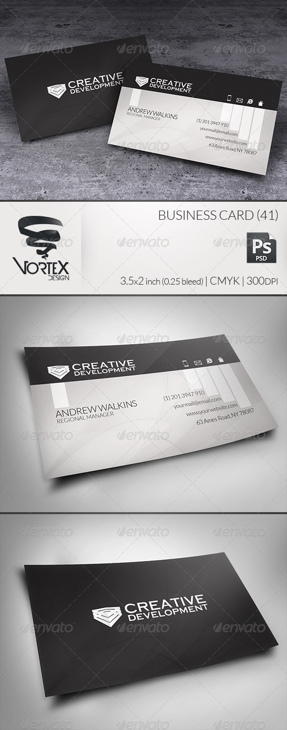 GraphicRiver Business Card 41 5916384