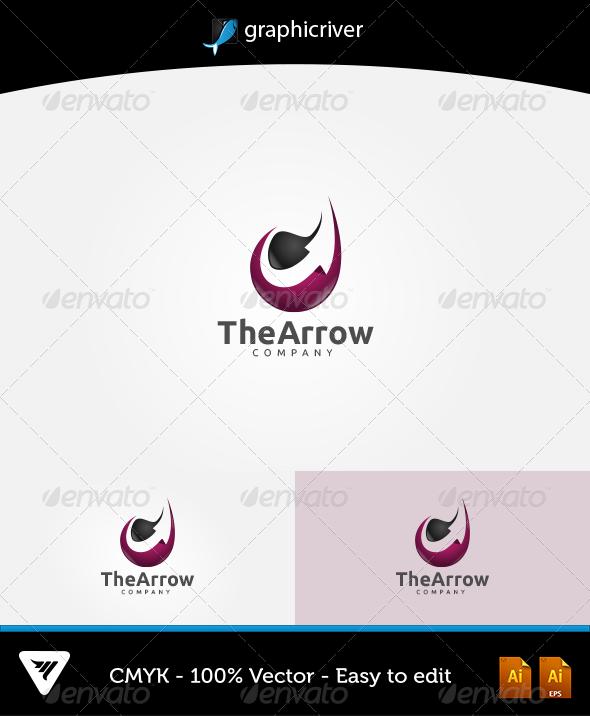 GraphicRiver The Arrow Logo 5916554