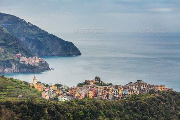 Corniglia, Italy - Stock Photo - Images