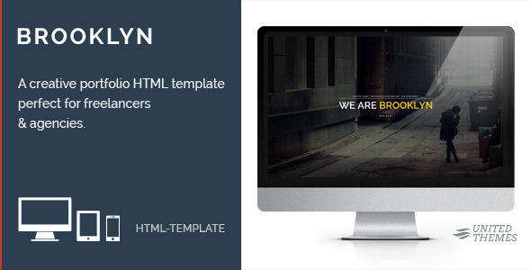 Brooklyn - Creative Portfolio Page HTML - Portfolio Creative