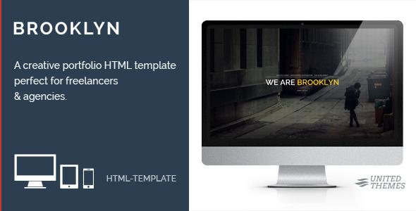 Brooklyn - Creative Portfolio Page HTML