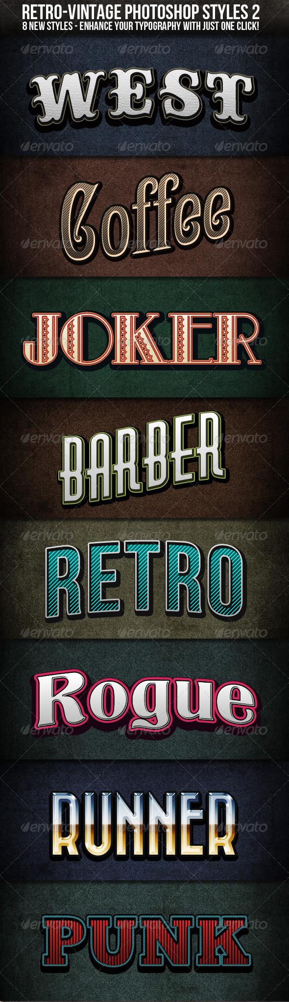 GraphicRiver Retro-Vintage Styles 2 541891