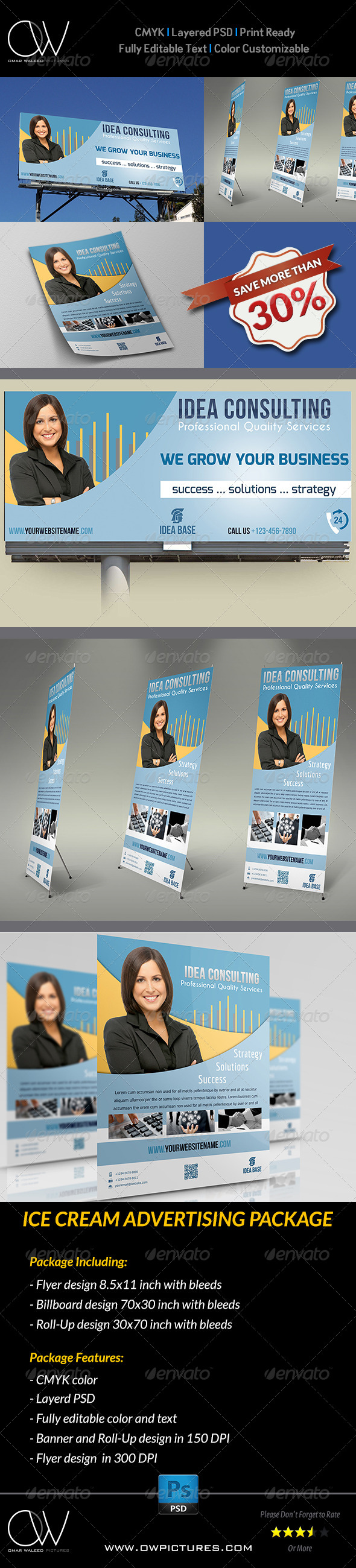 GraphicRiver Corporate Advertising Bundle 5917390