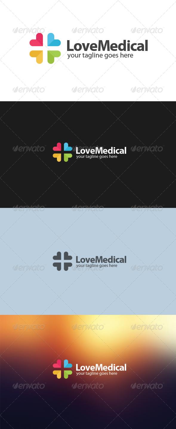 GraphicRiver Love Medical Logo 5917437