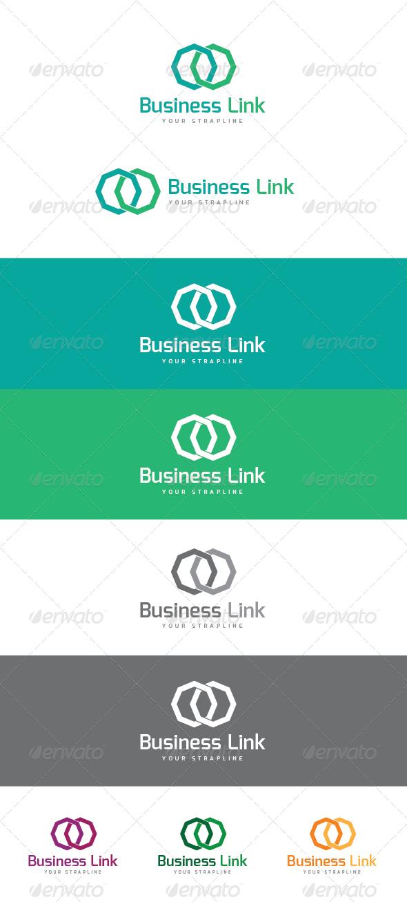 GraphicRiver Business Link Logo 5907131