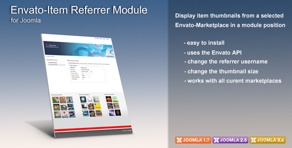 CodeCanyon KJE Envato-Item Referrer Module 5918240