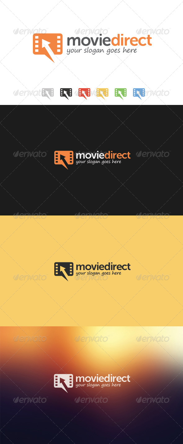 GraphicRiver Movie Direct Logo 5918332