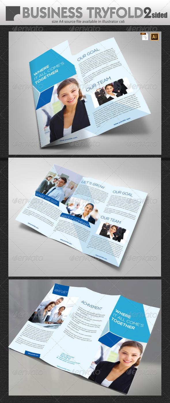 GraphicRiver Business Tri-Fold Brochure 5918468