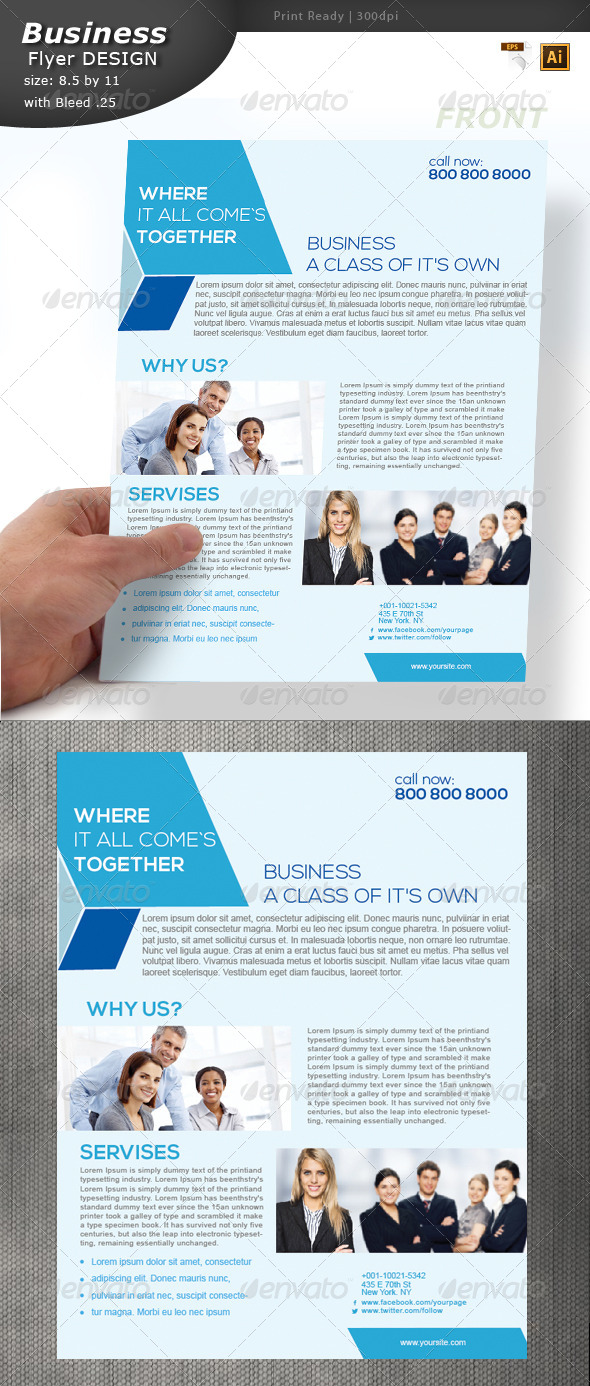 GraphicRiver Busines Flyer Design 5918482