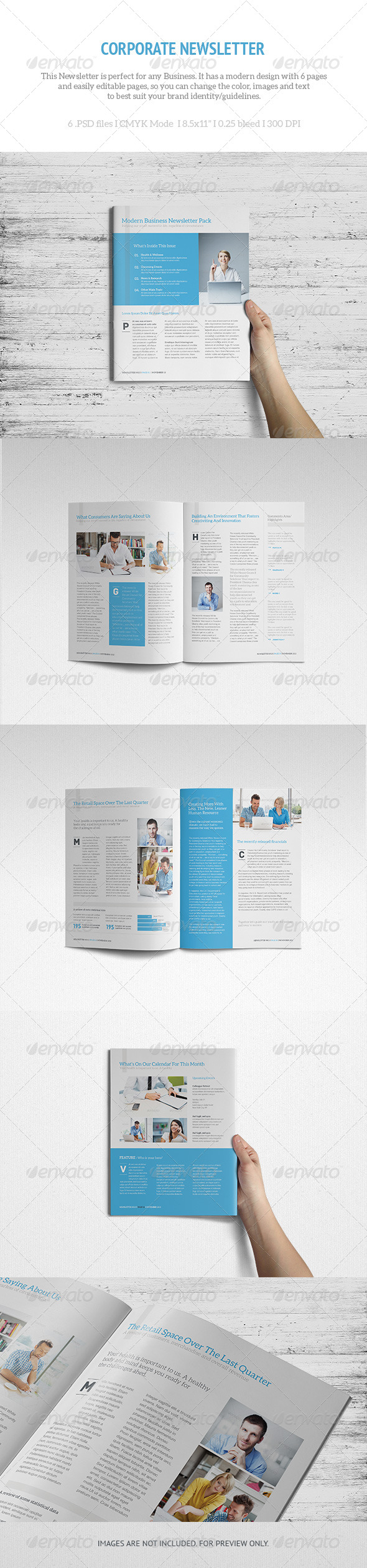 GraphicRiver LETR Corporate Newsletter 5918672