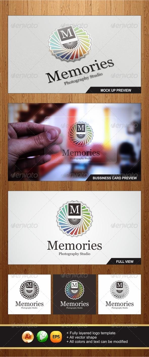 GraphicRiver Memories Photo Logo 5918753