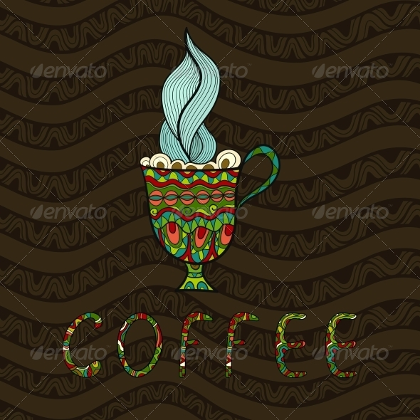 GraphicRiver Coffee Background 5919138