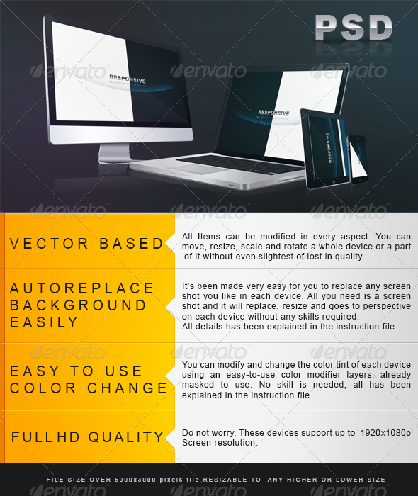 GraphicRiver Perspective All Vector Responsive Screen 5919327