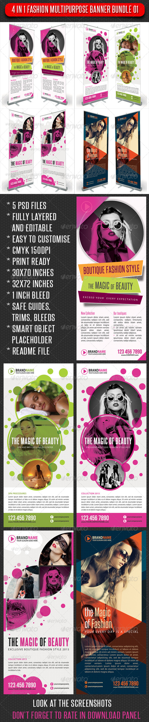 GraphicRiver 4 in 1 Fashion Multipurpose Banner Bundle 01 5919441