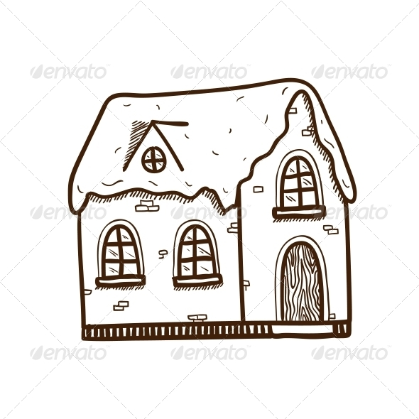 GraphicRiver Winter House 5919462