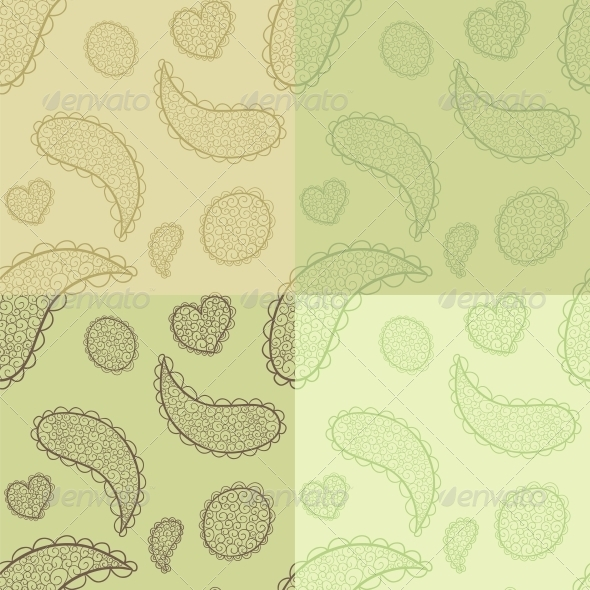GraphicRiver Collection of Seamless Patterns 5919848