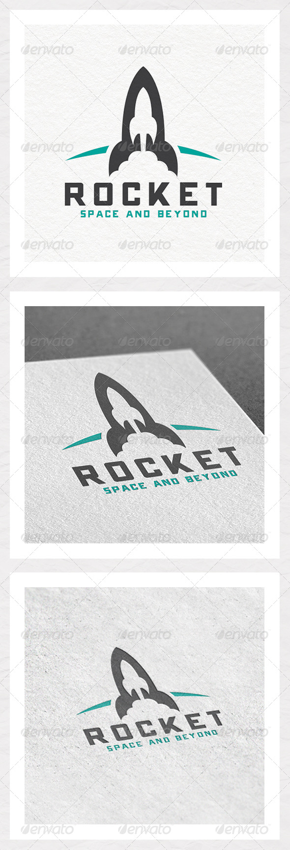 GraphicRiver Rocket Logo Template 5919923