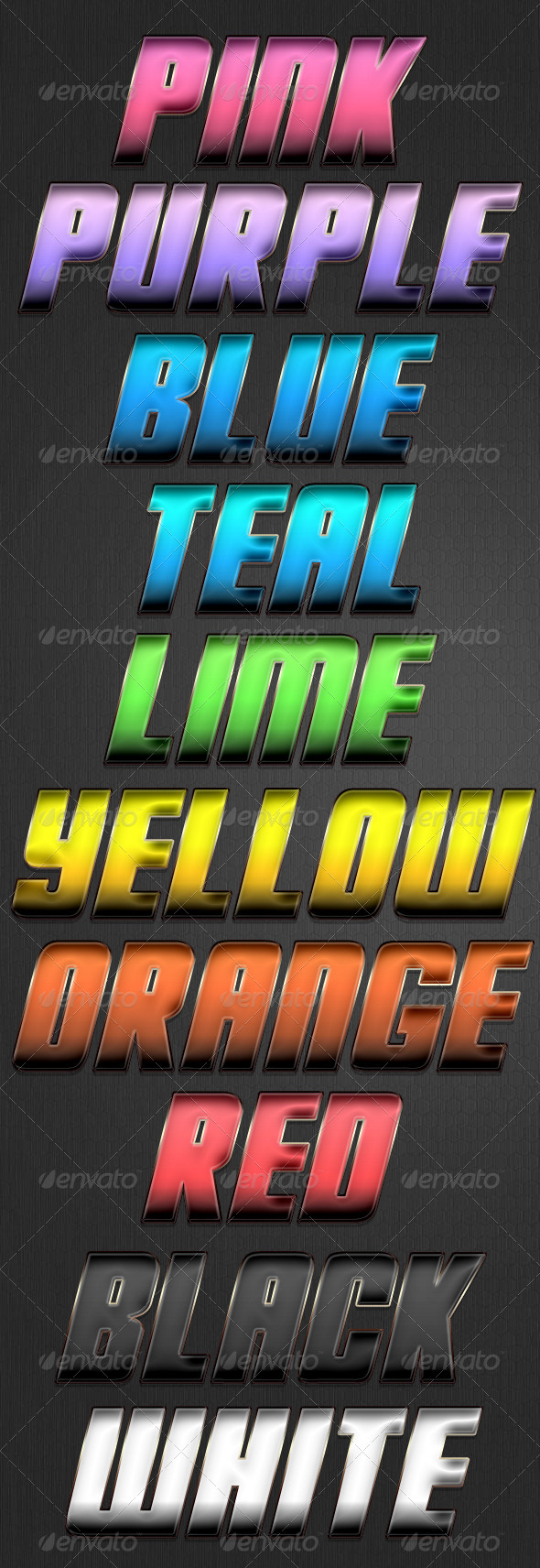 Sun Spots Style - Text Effects Styles