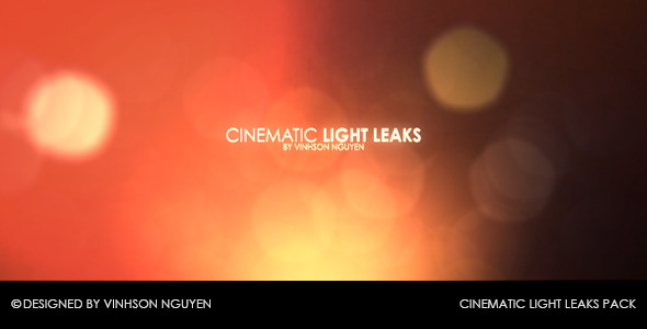 Cinematic Light Leaks Pack
