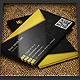 Dark Business Card Template  01 - GraphicRiver Item for Sale