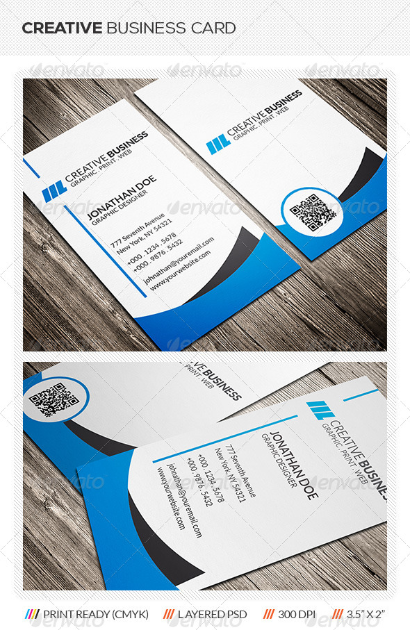 GraphicRiver Creative Corporate Business Card 5921012