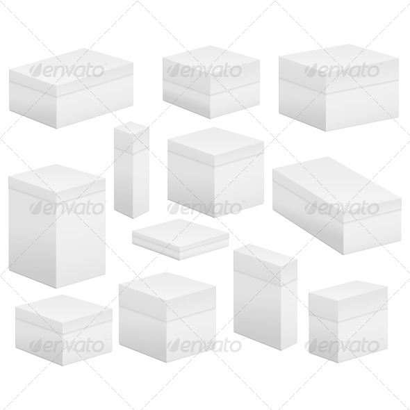 GraphicRiver Blank Boxes 5921273