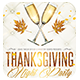 Thanksgiving Night Vertical Horizontal + FB Cover - GraphicRiver Item for Sale