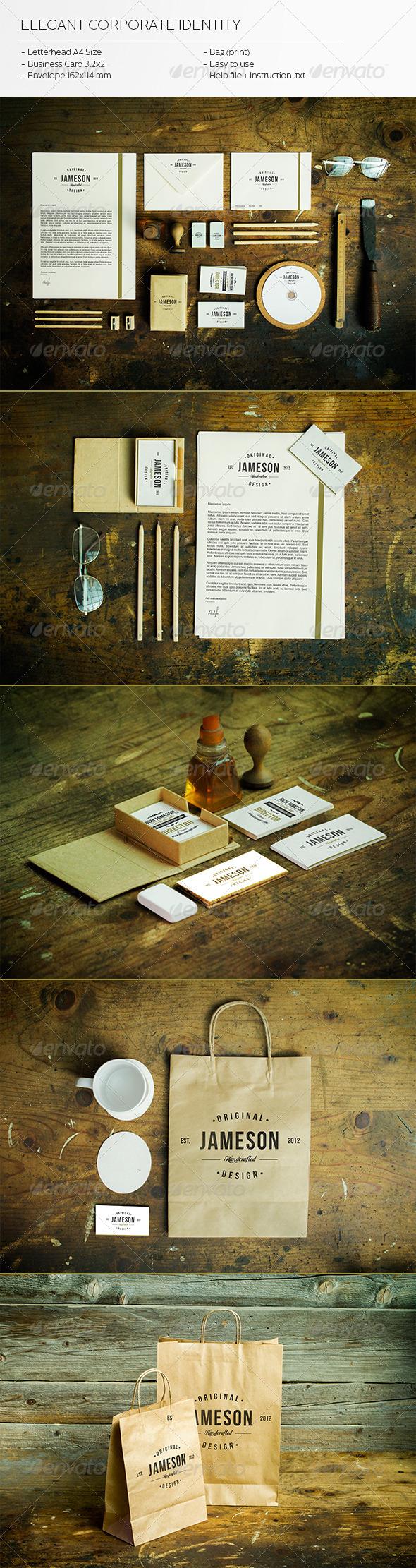 GraphicRiver Elegant Corporate Identity 5921961