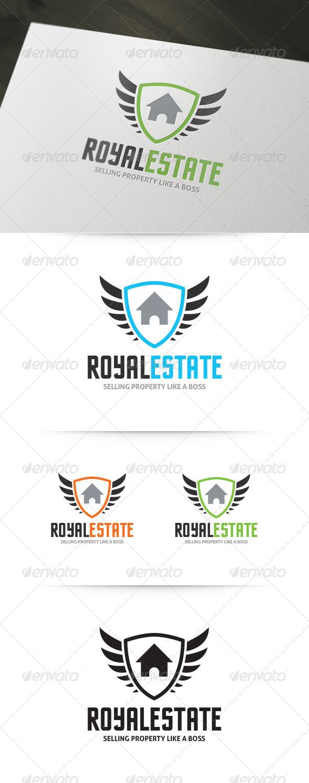 GraphicRiver Royal Real Estate Logo 5922281