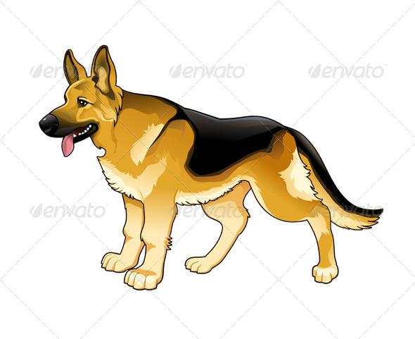 GraphicRiver German Shepherd 5922289