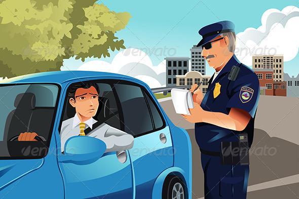 GraphicRiver Traffic Violation 5922389