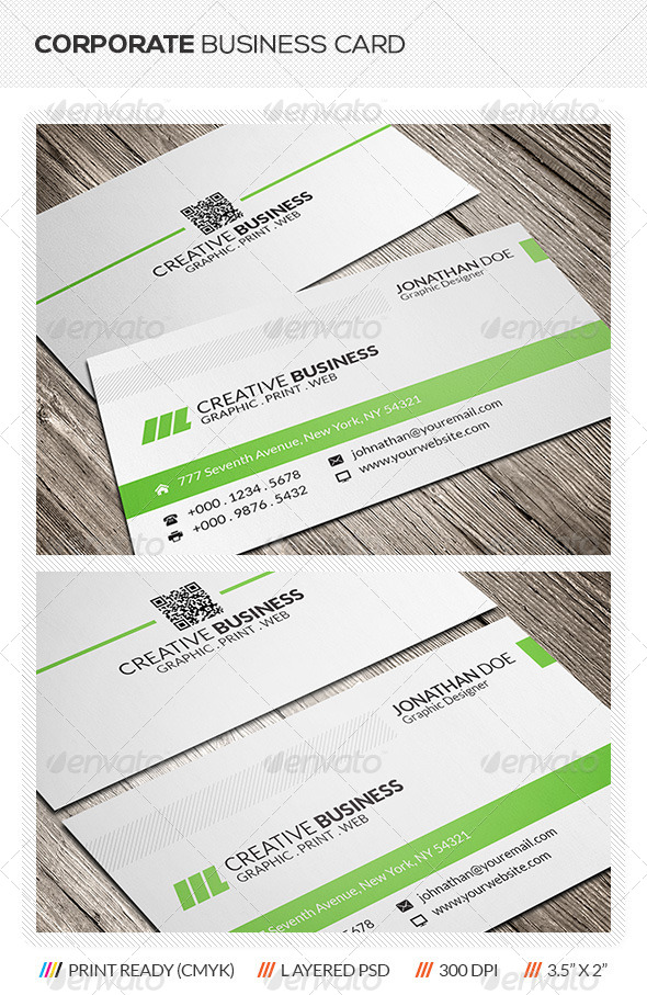 GraphicRiver Clean Business Card 5922492